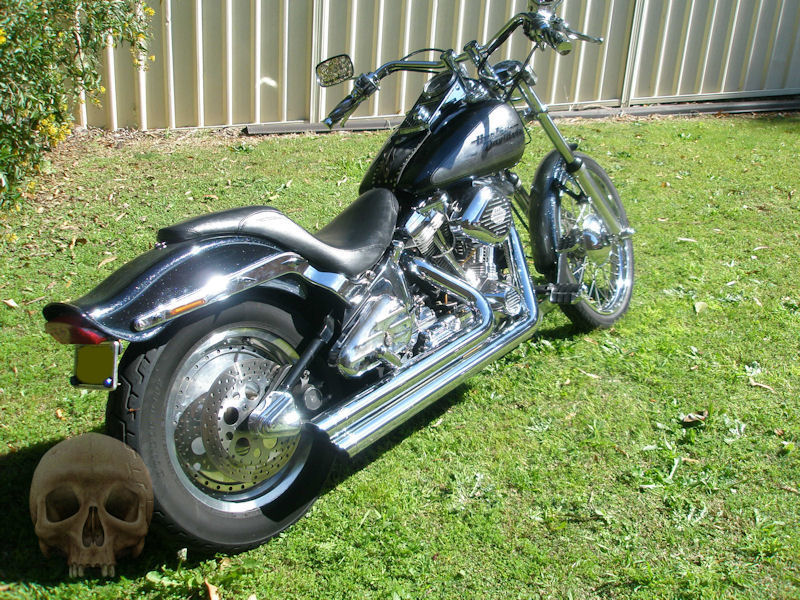 cheap harley davidson for sale - 1990 fxstc softail for sale