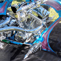 Customised Harley-Davidson