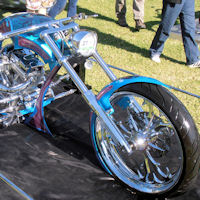 Customised Harley