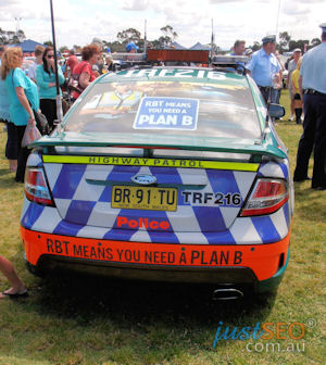 Ford FPV Police Highway Patrol car - new livery