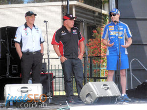 Mark Winterbottom, Jim Richards, Andrew Fisher