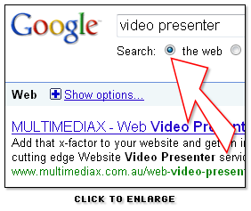 'Video Presenter' search results