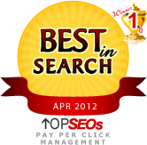 #1 Pay Per Click Management Company April 2012