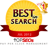 #1 Pay Per Click Management Company July 2012